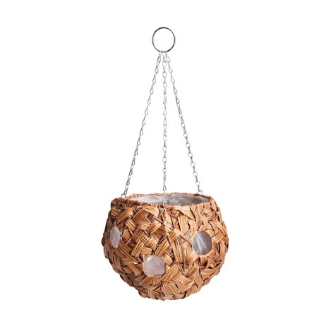 Gardman Faux Hyacinth Ball Hanging Basket - 9' (02115)
