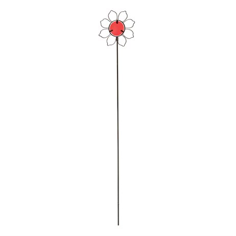 Gardman Flower Pot Stake - Red (09847)