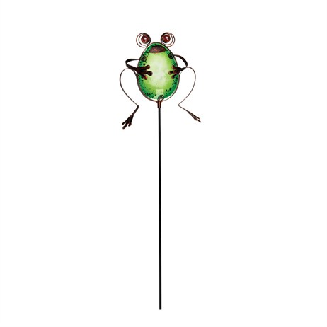 Gardman Garden Friends Pot Stake - Frog (09882)