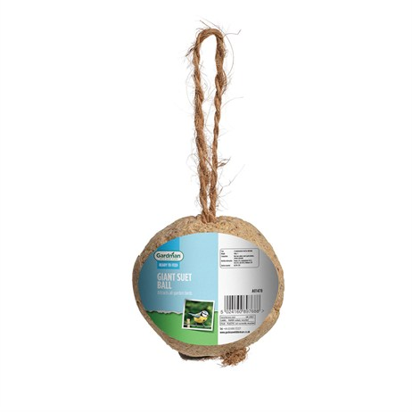 Gardman Giant Hanging Fat Snax Suet Ball Bird Food (A01478)