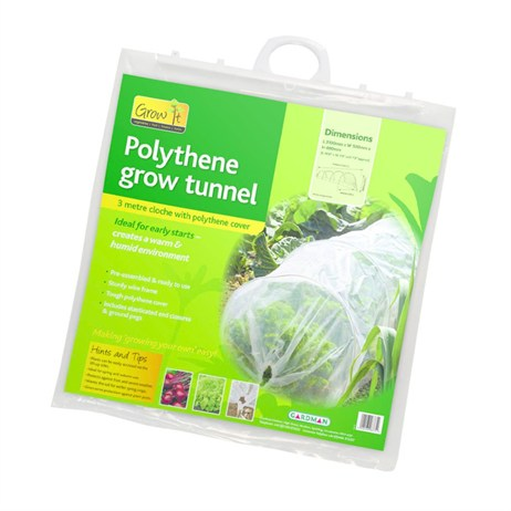 Gardman Grow Tunnel With Polythene Cover (08775)