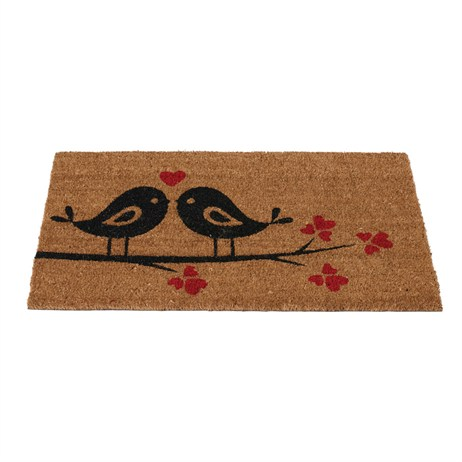 Gardman Love Birds Coir Mat (82930)