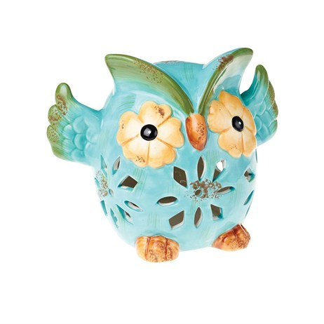 Gardman Owl Table Light - Blue (L23016)