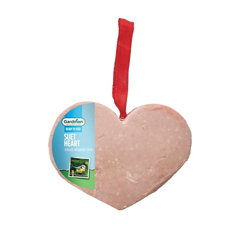 Gardman Suet Heart Bird Food (A01474)