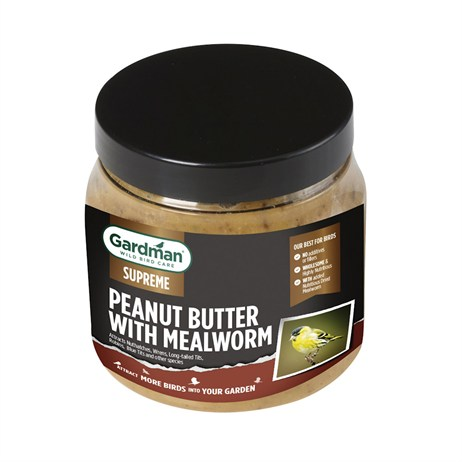 Gardman Supreme Peanut Butter With Mealworm Bird Food (A01497)