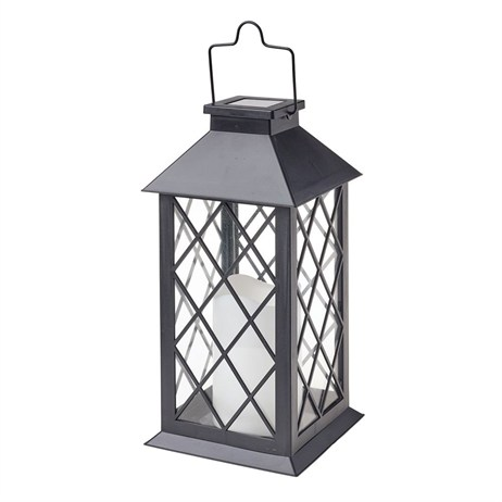 Gardman Traditional Candle Lantern Black (L23022)
