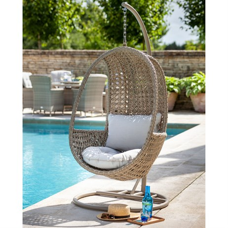 Hartman Heritage Hanging Chair Outdoor Garden Furniture With Cushion (712385)