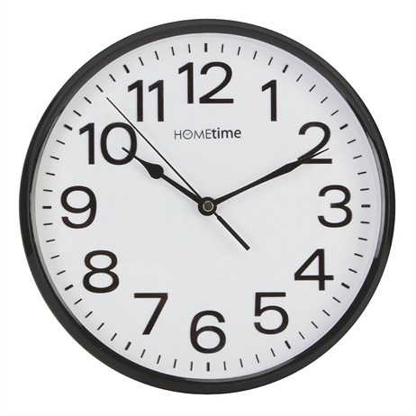Hometime Silent Sweep Wall Clock (W7588B)