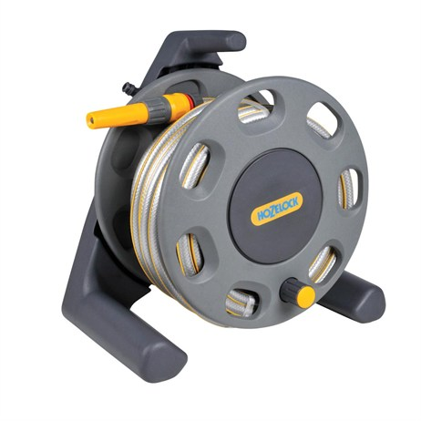 Hozelock 30m Hose Reel with 15m Hose (2412)