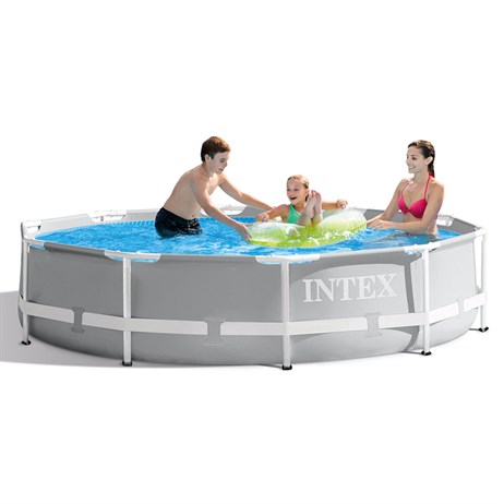 Intex 10ft X 30in Prism Frame Swimming Pool (26700NP)