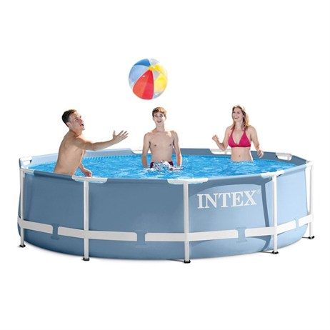 Intex 12ft X 30in Prism Frame Swimming Pool (28710NP)