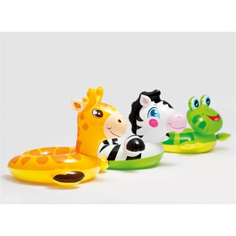 Intex Rubber Ring - Animal Split Rings - Frog (59220NP)