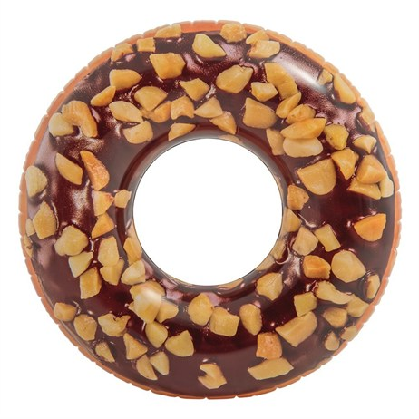 Intex Rubber Ring - Nutty Chocolate Donut Tube (56262NP)