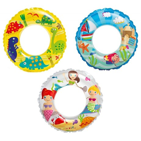Intex Rubber Ring - Transparent Rings - Mermaid (59242NP)