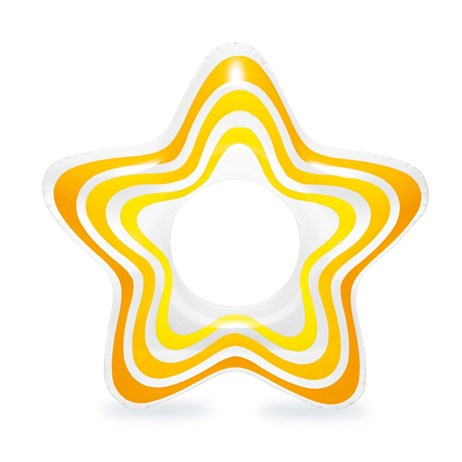 Intex Rubber Ring - Yellow Star (59243NP)