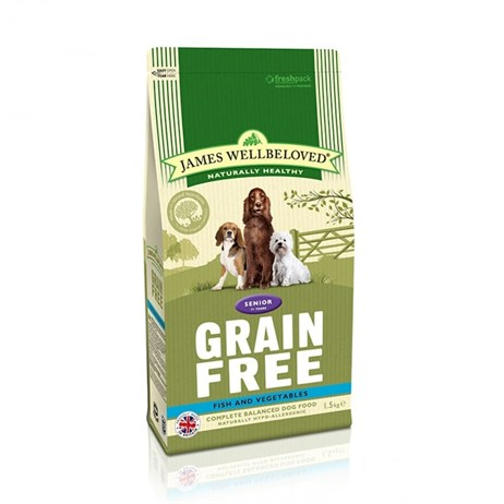 James Wellbeloved Fish Grain Free - Senior 1.5Kg (6360015)
