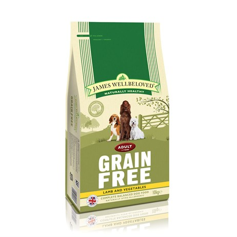 James Wellbeloved Lamb Grain Free - Adult Maintenance 10Kg (6922100)