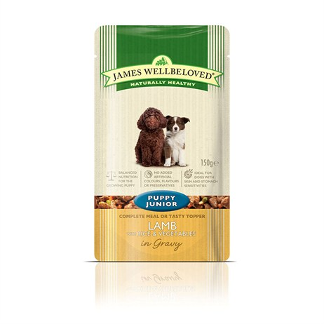 James Wellbeloved Pouches - Lamb Puppy 150G (6957001)