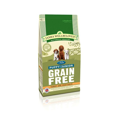 James Wellbeloved Turkey Grain Free - Puppy 1.5Kg (6120015)