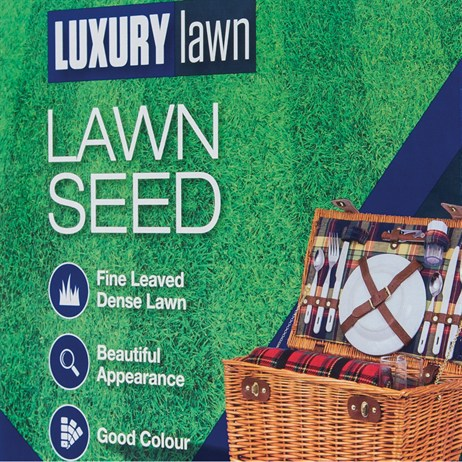 Johnsons Luxury Lawn Grass Seed Bulk Bag 10kg 400sqm