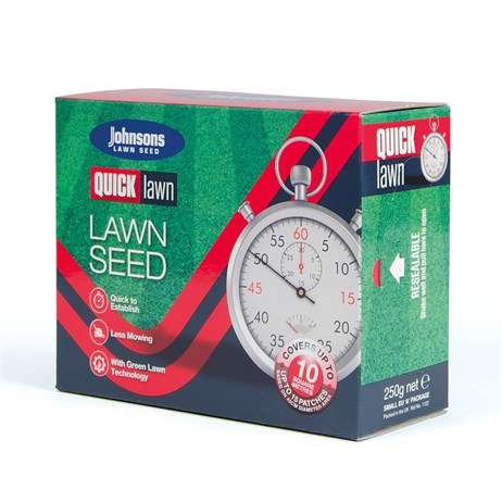 Johnsons Quick Lawn Seed 250g 10sqm