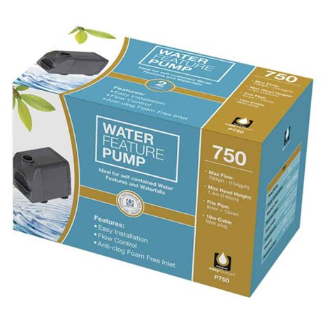 Kelkay Water Fountain Feature Pump 750 (PU750)