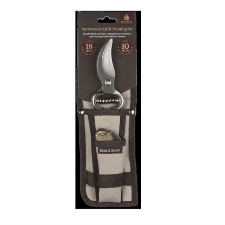 Kent & Stowe Secateurs and Pruning Knife Holster Set (70100679)