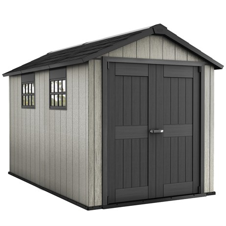 Keter Oakland Garden Shed 7511 - Brownish Grey (17201421)