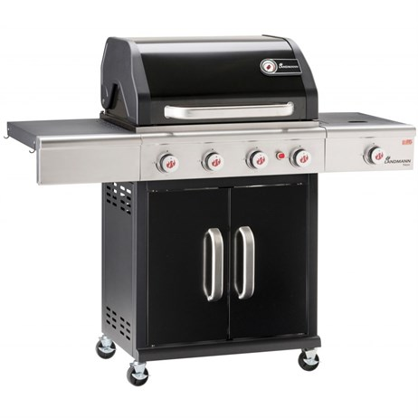 Landmann BBQ Triton MaxX 4.1 Burner Gas Barbecue - Black (12968)