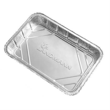 Landmann Large Aluminium Drip Pans 10 Pack Barbecue Accessory (0312)