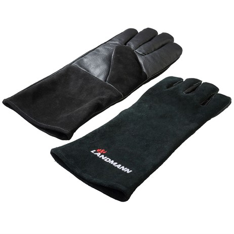 Landmann Leather Barbecue Gloves Barbecue Accessory (13699)