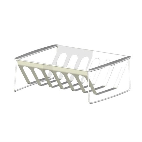 Landmann Selection Stainless Steel Rib Rack & Roast Holder - Barbecue Accessories (15505)