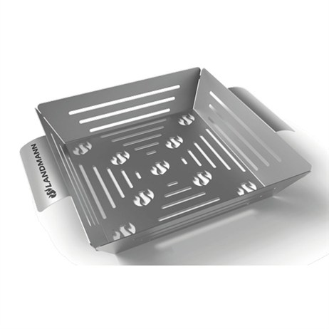 Landmann Selection Stainless Steel Vegetable Basket - Barbecue Accessories (15503)