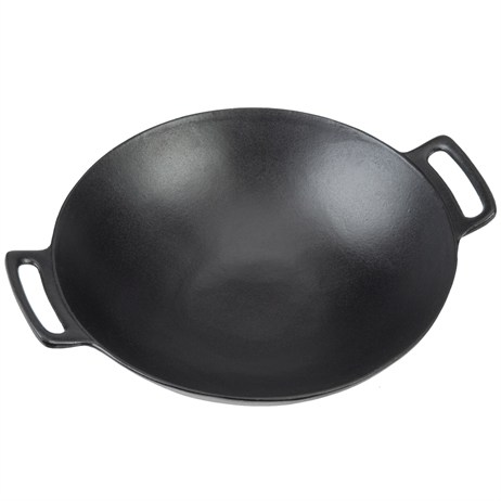 Landmann Selection Wok - Cast Iron Barbecue Accessory (15502)