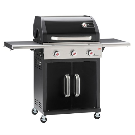 Landmann BBQ Triton 3 Burner Gas Barbecue - Black (12932)