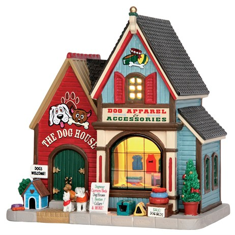 Lemax Christmas Village - The Dog House Building - Battery Operated LED (55978)