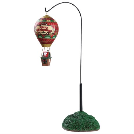Lemax Christmas Village - A Christmas Eve Balloon Ride Table Piece - Battery Operated (84353)