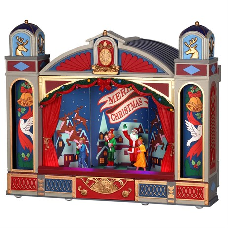 Lemax Christmas Village - Christmas Ballet Building with 4.5V Adapter (95461-UK)