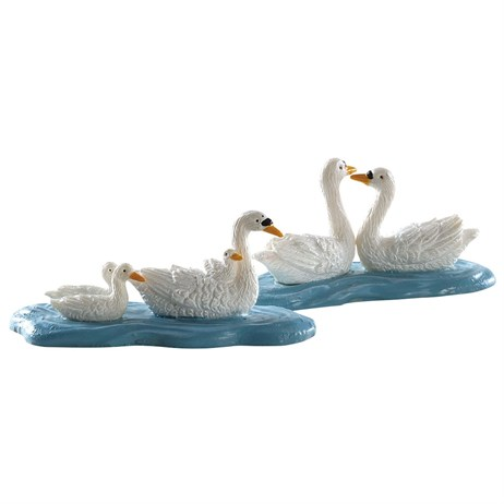 Lemax Christmas Village - Swans Accessory - Set of 2 (82613)