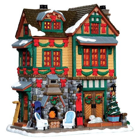 Lemax Christmas Village - The Brodie Residence Building - Battery Operated (45718)