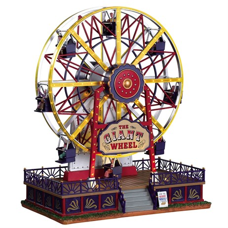 Lemax Christmas Village - The Giant Wheel Building with 4.5V Adapter (94482-UK)