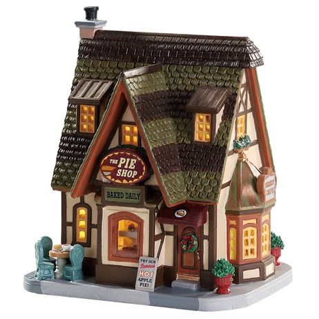 Lemax Christmas Village - The Pie Shop Building - Battery Operated (75258)
