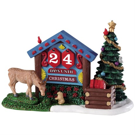 Lemax Christmas Village - Woodland Countdown Table Piece (93436)