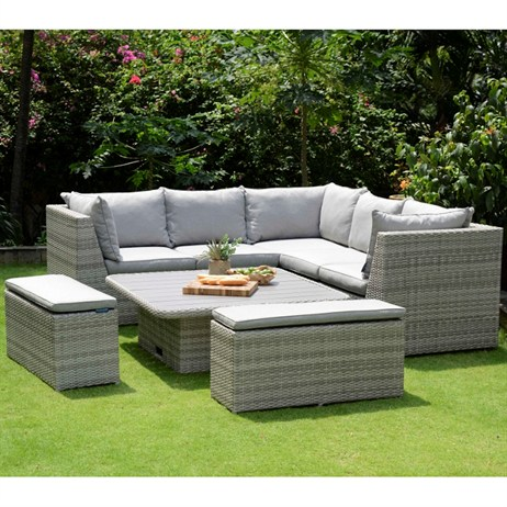 Lifestyle Garden Aruba Casual Corner Outdoor Garden ...