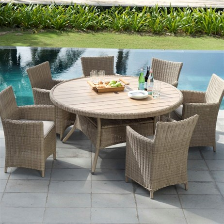 Lifestyle Garden Martinique 6 Seat Dining Set