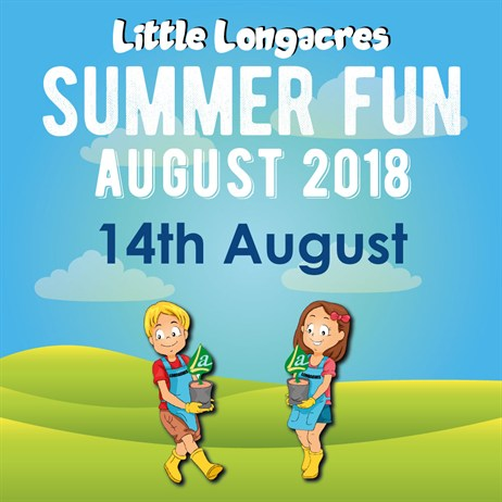 Little Longacres Summer Fun Day Ticket - Event 2 - 14th August 2018 - SOLD OUT!