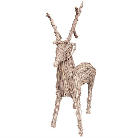 Lows Of Dundee 60 Inch Vine Christmas Reindeer Decoration (HCPREIN/60)
