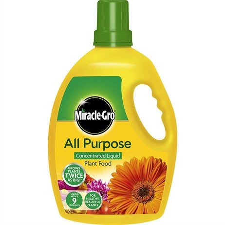 Miracle-gro All Purpose Concentrated Liquide Plant Food - 2.5L (119386)