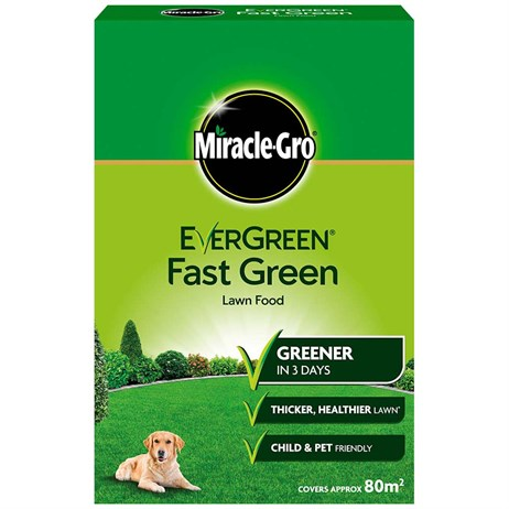 Miracle-Gro Evergreen Fast Green Lawn Food 80m2 (119684)