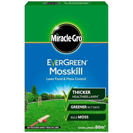 Miracle-Gro Evergreen Mosskill Lawn Food & Moss Control 80m2 (119672)